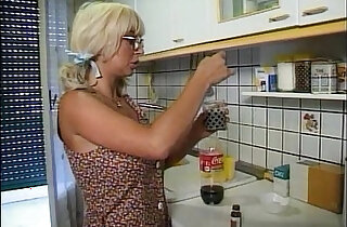 Young and ugly girl wants to fuck the neighbour but she takes what she can get xxx tube video