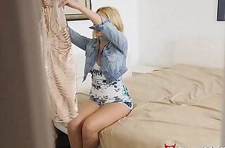 Teen Virgin Sis Chloe Cherry Fingered Fucked In The Ass By Stepbro xxx tube video