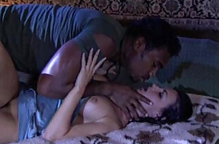 White chick caught in her sleep and banged by a big black man xxx tube video