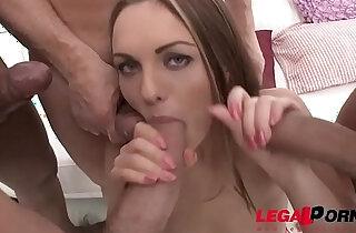 Pornstar Dominica Phoenix gets her Ass double stuffed by Huge Cocks! xxx tube video