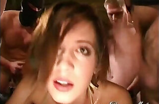 Bukkake Gangbang xxx tube video