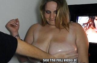Big Tit Bimbo Sucks Off Strangers! xxx tube video