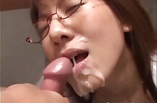 Asian Threesome With Dominant Masters Giving Facial To Submissive Japanese xxx tube video