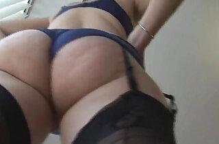 Mature English blonde euro babe in stockings upskirt tease xxx tube video