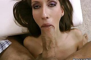 Firm tits brunette blowjob fucking POV xxx tube video