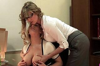 Big Breasted Lesbians Viv Thomas HD xxx tube video