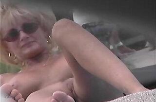 Nude Beach Voyeur porn Video Cougar MILF Naked At The Nude Beach xxx tube video