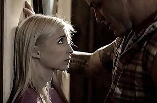 Petite brunette teen pleases her bossy stepdad xxx tube video