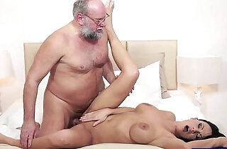 Busty Samantha Rebeka banged by old dude xxx tube video