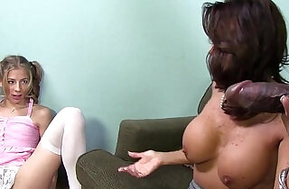 Mom Tara Holiday shares a BBC with Chastity Lynn xxx tube video