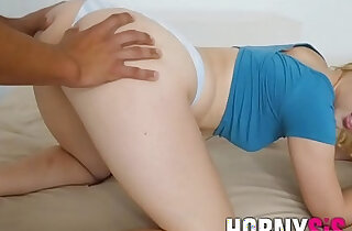 Brother teaches sister first hard anal lesson xxx tube video