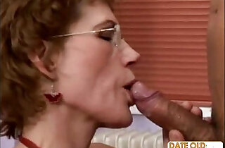 Fine Older Woman and Younger Student xxx tube video