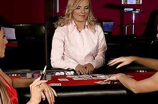 Naughty Gamblers by Sapphic Erotica sensual lesbian scene with Rene and Li xxx tube video