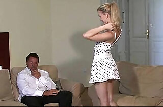 He finds his girlfriend with old man xxx tube video
