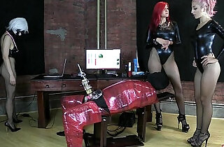 Alexa Rydell and Amadahy milking their slave femdom facesitting xxx tube video