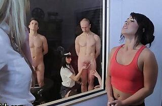 Police domina jerks cock xxx porn
