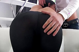 pornvideo.rodeo BUTT PORN WITH SEXY RUSSIAN TEEN TIGHT LEGGINGS xxx tube video