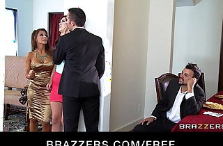Two young couples switch partners start a hardcore orgy xxx tube video